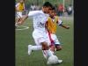 Cèsar Parra (i), de Metro Liga, fue marcado por Iván Murillo, de Unión 25, en la fase semifinal de la división Sub-12