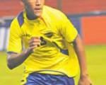 El delantero Carlos Grueso defiende en la actualidad al Independiente José Terán.