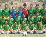 Este conjunto de la Escuela de Fútbol Municipal de Naranjal participará en la inauguración del torneo Interbarrial de Fútbol de Diario EL UNIVERSO.
