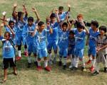 Equipo del Manta sub-12, que participó en el Campeonato Interbarrial de Fútbol, en la presente temporada.
