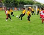 Hoy se abre oficialmente la cancha 2 de la Ciudad Deportiva Carlos Pérez Perasso, donde por el resto de la temporada jugarán los pequeños que participan en las categorías sub-5 y sub-6 del barrial.