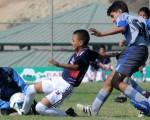 Anthony Calderón, de Independiente del Valle, anotó uno de los 4 goles con que su equipo ganó 4-0 a Emelec B en la sub-13.
