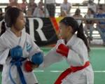 Nicole Ordóñez (i) participa en el Interbarrial y fue seleccionada de Guayas en los VI Juegos Nacionales de Menores.