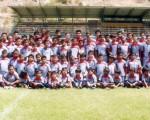 Centenares de jugadores efectúan sus entrenamientos en el conjunto de la Escuela de Fútbol El Nacho para competir en el certamen Invernal. Este equipo se inscribirá al evento en 12 series.