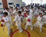 Carlos Donoso  Deportistas que pertenecen a la Asociación de Karate del Guayas (AKG) y que participan en el Interbarrial de EL UNIVERSO.