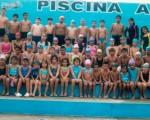 Niños que pertenecen a la Escuela de Natación de la Asociación Provincial de Natación del Guayas y varios de ellos estarán en el torneo de EL UNIVERSO.