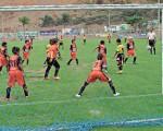Uno de los juegos entre la Academia Alfaro Moreno y Barcelona en el torneo de Verano, ambos equipos estarán en el Invernal. Guido Manolo Campaña