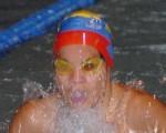 Boris Reyes, nadador esmeraldeño que surgió en el torneo del 2008 y que se mantiene vigente como seleccionado nacional.