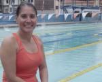 La nadadora Zedex Fuentes quien en la actualidad es instructora de niños, debutó en el torneo de EL UNIVERSO en abril de 1984 y guarda gratos recuerdos de su época como novata.