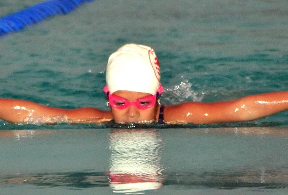 Paula Ortiz, de Apronag, clasificó en la categoría 7-8 años.