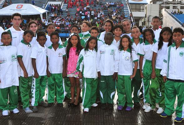 Equipo que representa a Esmeraldas y que participa por sexto año consecutivo en el Novatos.