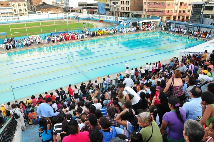 Inauguración del Campeonato Novatos de Natación 2013