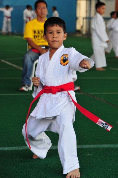 Campeonato interbarrial de karate Andrey Alvarado. (Angel Aguirre)