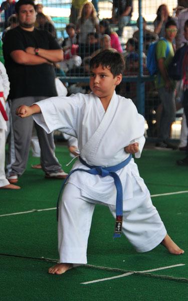 Campeonato interbarrialde karate Bryan Zambrano (Angel aguirre)