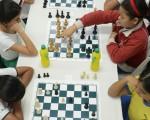 El pasado fin de semana se jugó la cuarta y quinta ronda del Campeonato Interbarrial de Ajedrez que auspicia EL UNIVERSO. (José Alvarado)