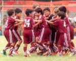 Los pequeños futbolistas en sus diferentes manifestaciones durante el desarrollo del Campeonato Interbarrial de Fútbol Diario EL UNIVERSO-Copa Samsung, en su etapa de Verano.