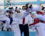 José Nieto (i) se enfrentó a Camilo Mendoza en la final de la categoría menores. (José Alvarado)