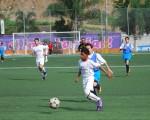 Josué Morán, de Más Fútbol Mapasingue, anotó el primer gol del Campeonato Invernal y lo hizo a los 43 segundos. (Guido Manolo Campaña)