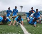 Con un gran despliegue futbolístico en la cancha, la Escuela de Fútbol 6 de Julio, que dirige el profesor Humberto Rugel, obtuvo la corona del torneo Invernal 2014, que auspicia EL UNIVERSO. (Víctor Serrano)