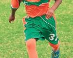 Elkin Acosta, figura del Santos Laguna Junior.