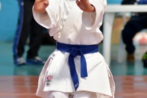 Víctor Serrano Kevin Quiroz, uno de los participantes en los torneos de karate que volverá a competir.