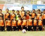Deportistas de la Escuela de Fútbol del cantón La Concordia debutaron este año en el barrial y actúan con éxito en torneo de EL UNIVERSO.