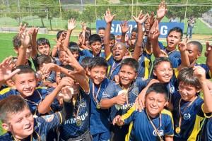 Independiente del Valle y Academia Goal protagonizaron en la final de la categoría sub-13 del torneo Invernal un interesante duelo en el que ningún elenco dio su brazo a torcer. Empataron a 1 y con este resultado la organización los declaró campeones.