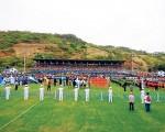 Estadio de la Ciudad Deportiva.   Este escenario volverá a recibir a miles de jugadores con motivo de la inauguración del torneo Interbarrial de Fútbol de Verano, tal como ocurrió en la edición de 2014.