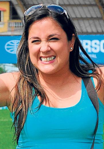 """María Palomeque: """"Aspiro a que mi hijo sea un jugador talentoso, creativo y estrella""""."""