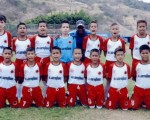 Equipo de Corinthians que disputará el título hoy en la categoría sub-14 ante la representación de Cenecú, por el Campeonato Interbarrial de Fútbol Diario EL UNIVERSO, edición de Verano 2015.