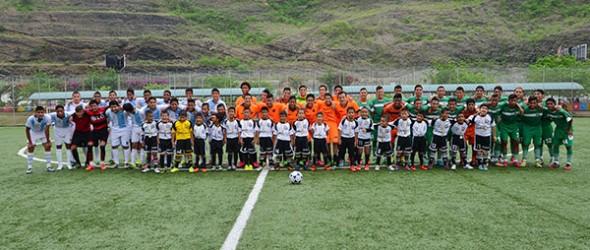 Equipos como la EFM Yaguachi (i), Alfaro Moreno, Valdez y Oro SC compitieron con éxito en el Campeonato Interbarrial de Fútbol, edición de Verano, organizado por Diario ELUNIVERSO.