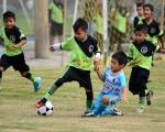 Un buen partido, con jugadas para el aplauso, presentaron los equipos San Pascual Bailón y Cristo Te Ama en la sub-9.