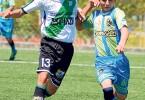 Justin Bustamante (i), de Pupilos de Oro, y John Medina, de Oro SC, volverán a medirse en el torneo de Verano en la categoría sub-17.