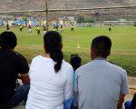 Los hinchas fueron animadores permanentes de los partidos que se dieron por el Mundialito de Fútbol Diario EL UNIVERSO-Copa Pony Malta, en la Ciudad Deportiva Carlos Pérez Perasso.