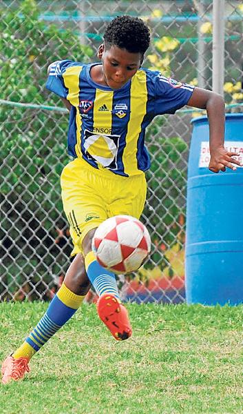 Jeremías Carabalí destaca en el cuadro de Romero FC.