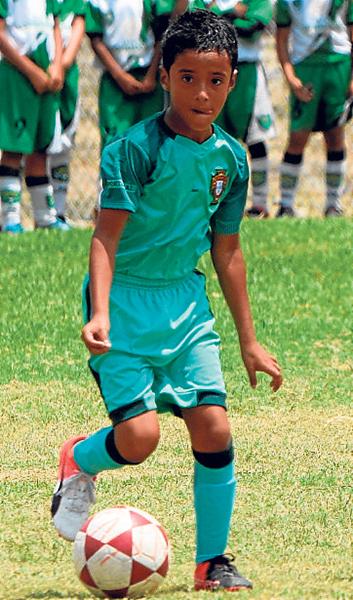 Jaren Miranda, valor de la EF Fuerza Babahoyo, sub-10.