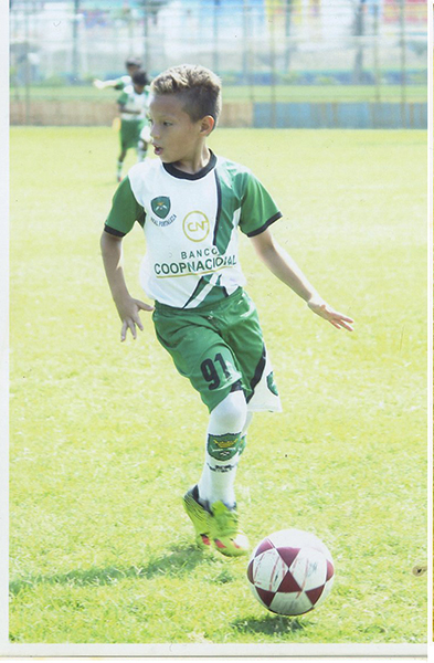 Kenneth Dominguez valor de EF Real Fortaleza, sub 11.