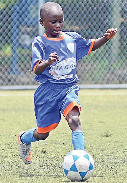 Josue Corozo, buen jugador del conjunto EF El Gran Rey.