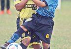 Áxel Lanza (i), de SC, y Lucas Balladares (d), de Tnte. Hugo Ortiz, volverán a estar en la Lid de la sub-10.