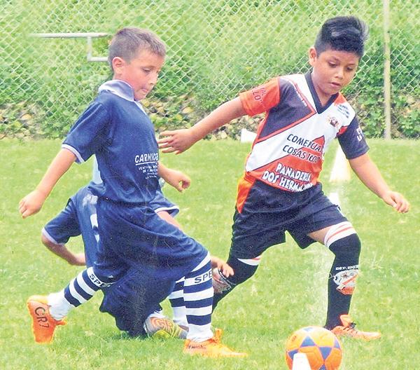 Andryu Andrade, de EF Spencer, y Bolívar Gordillo, de Deportivo América, volverán a enfrentarse en la categoría sub 8.
