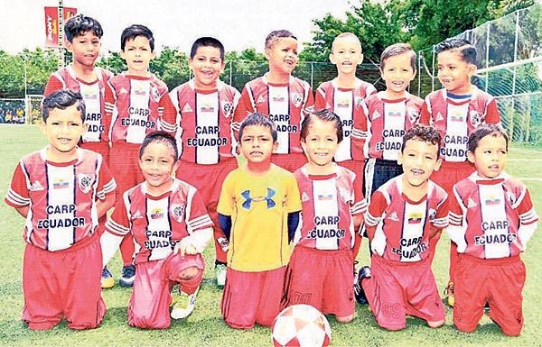 River Sur practica buen fútbol y clasificó a instancias finales en la categoría sub-8 del torneo de fútbol de EL UNIVERSO.