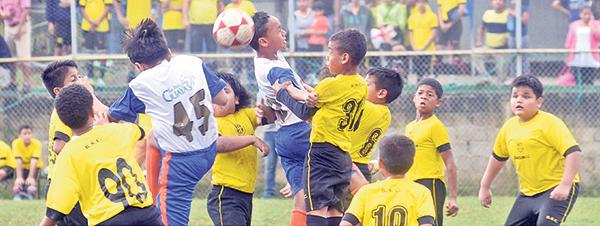 Barcelona Milagro protagonizó un partido interesante con el cuadro de la Prefectura del Guayas en la categoría sub-11.
