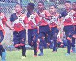 Deportivo América, conjunto de La Troncal, provincia del Cañar, que ya inició su entrenamiento para jugar el torneo de Verano de EL UNIVERSO.