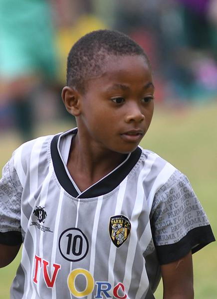 Juan Scaffy es un valor de Parma FC en la serie sub-9.