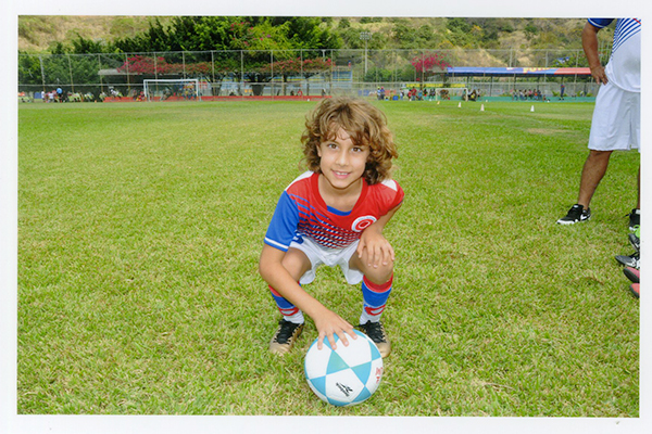 Marcelo Molina, capitán de la EF Diana Quintana, sub-10.