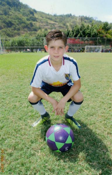 Leonardo Ponce se lució en el equipo de la UE Torremar.