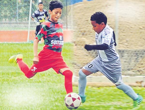 Thiago Cedillo actúa en el Fuerte Huancavilca, sub-12. Joel Vera milita en el C.S. Patria, sub-10.
