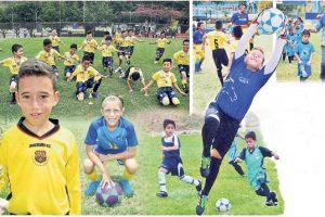 El Invernal de fútbol de Diario EL UNIVERSO entrega información y recibe inscripciones en la secretaría, ubicada en Deportes Guela.