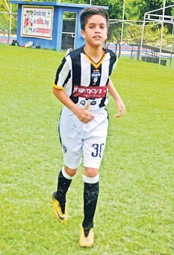 Francisco Feraud defenderá al Atlético Juvenil, sub-13.