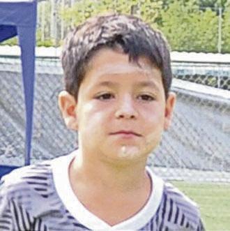 Francisco Molestina Jr, valor de la UE Torremar, sub-8.
